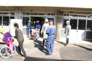 2014静心園総合防災訓練