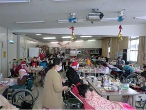 静心園クリスマス会2014①